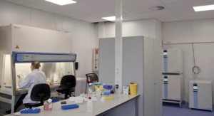 Gebouw M licht - lablaborant