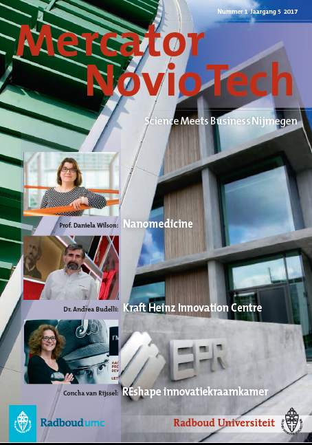 Cover Mercator Noviotech Magazine 1-2017